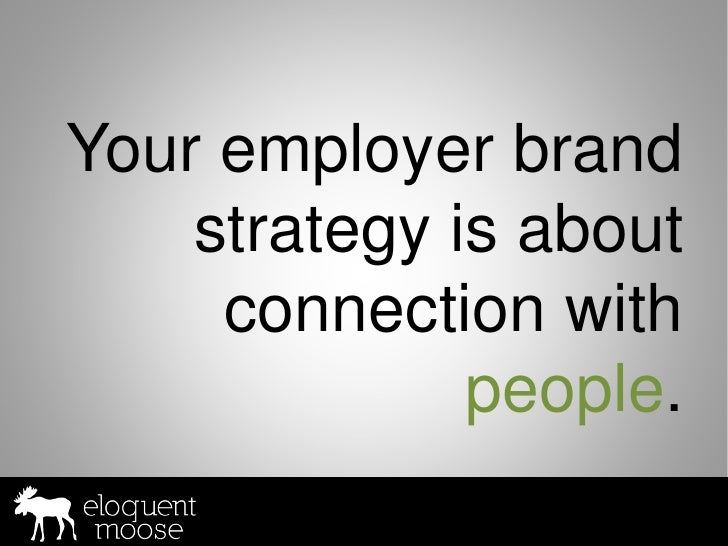 Building your employer brand online