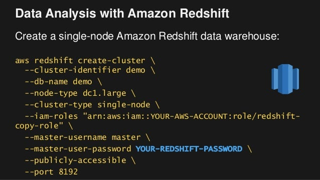 Workshop: Building Your First Big Data Application on AWS