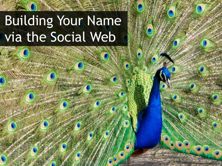 Building Your Namevia the Social Web