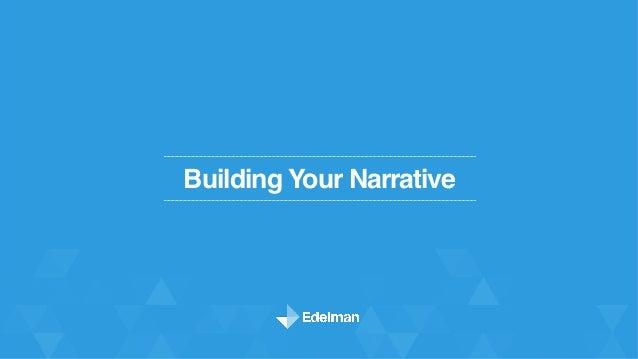 Building Your Narrative