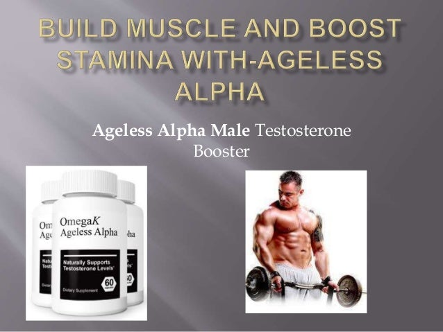 Ageless Alpha Male Testosterone Booster