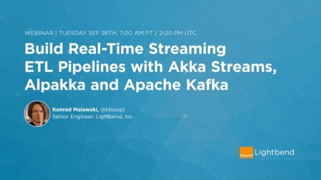 Konrad `ktoso` Malawski Akka Team, Reactive Streams TCK, Persistence, HTTP, Remoting / Cluster