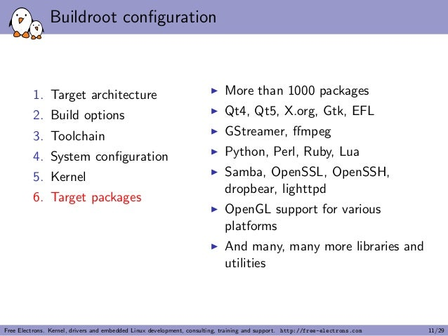 Buildroot: building embedded Linux systems made easy! (Linux Conf Aus…