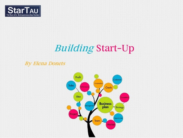 Building Start-Up By Elena Donets