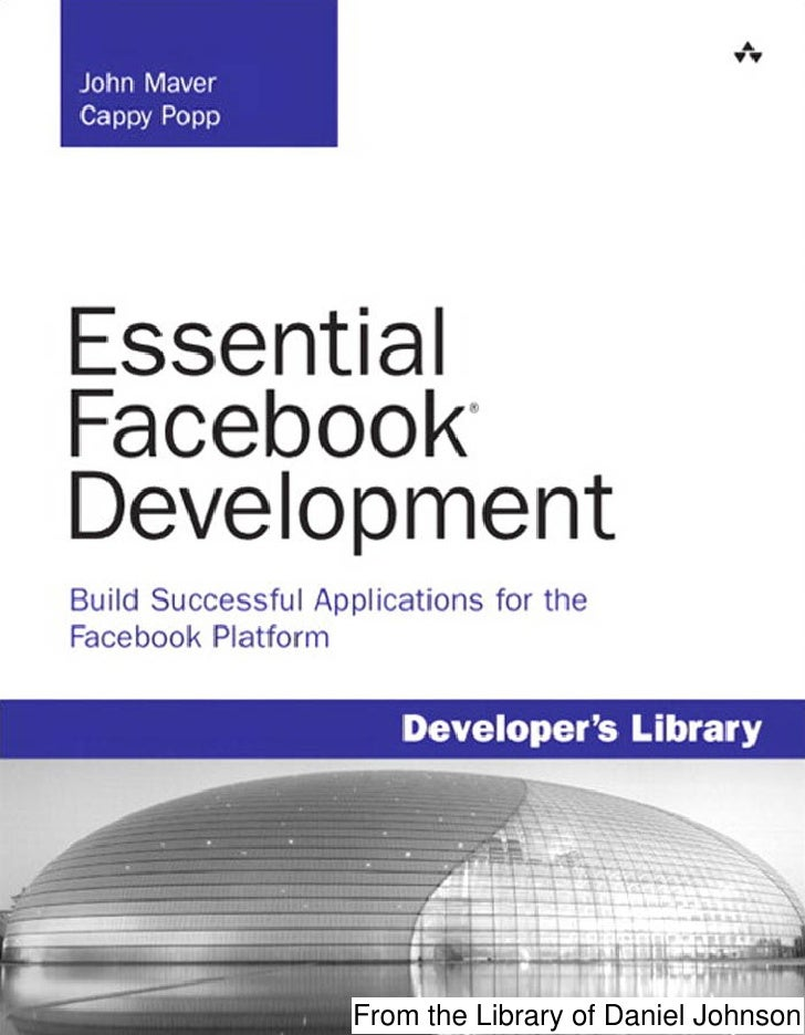 Build successful applications for the facebook platform