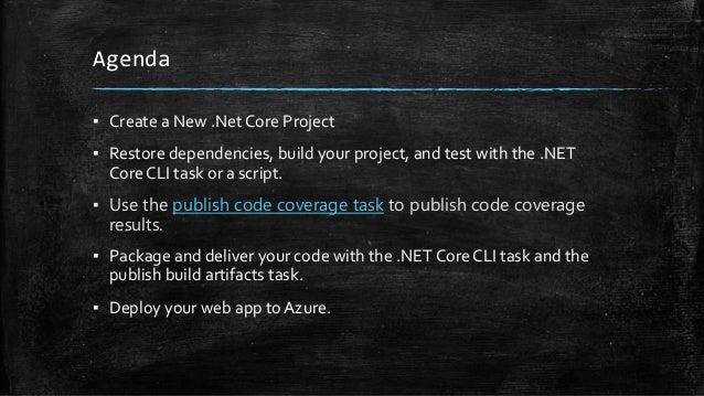 BUILD, TEST & DEPLOY .NET CORE APPS IN AZURE DEVOPS Slide 3