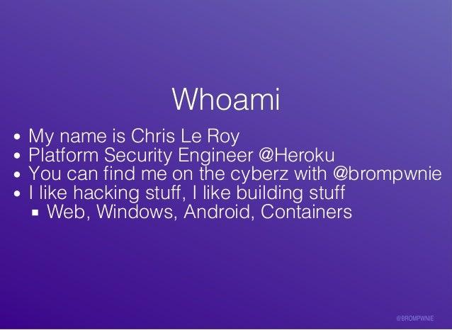 Build to Hack, Hack to Build Slide 2