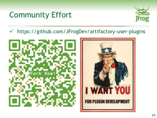 Community Effort https://github com/JFrogDev/artifactory