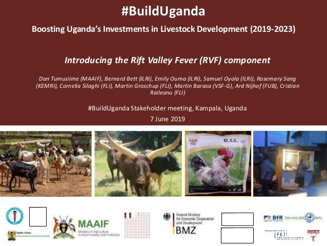 #BuildUganda Boosting Uganda's Investments in Livestock Development (2019-2023) Introducing the Rift Valley Fever (RVF) co...