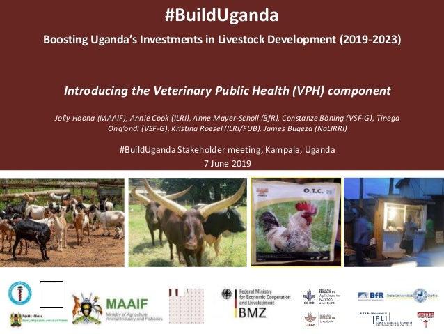 #BuildUganda Boosting Uganda's Investments in Livestock Development (2019-2023) Introducing the Veterinary Public Health (...