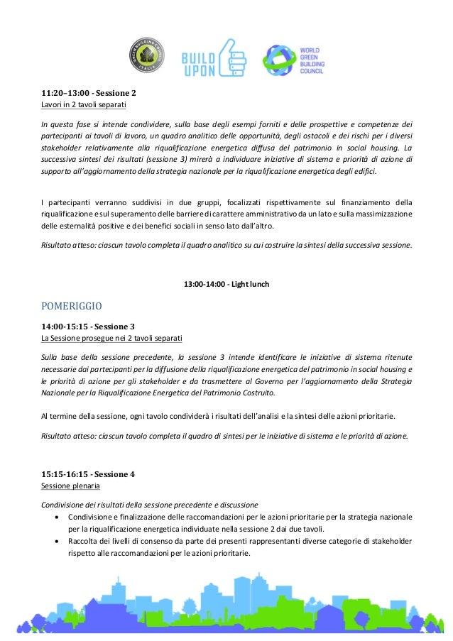 build upon- gbc italia - ws4 social housing - Tavolo Extra Lunga Estensione