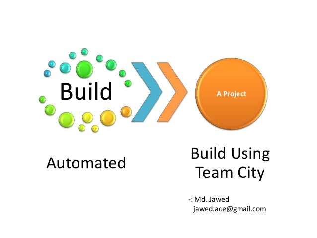 Build             A Project            Build UsingAutomated             Team City            -: Md. Jawed              jaw...