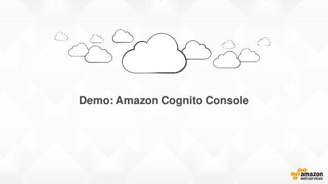 Demo: Amazon Cognito Console