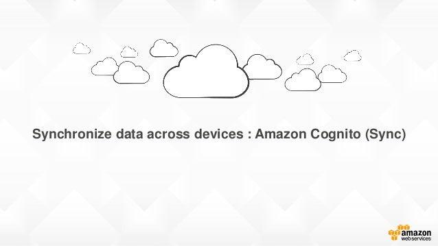 Synchronize data across devices : Amazon Cognito (Sync)
