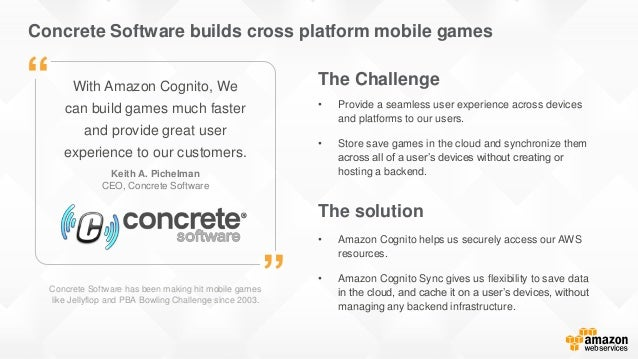Concrete Software builds cross platform mobile games Concrete Software has been making hit mobile games like Jellyflop and...