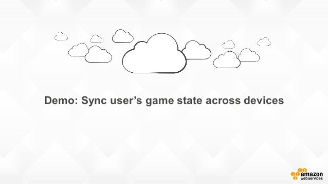 Demo: Sync user's game state across devices