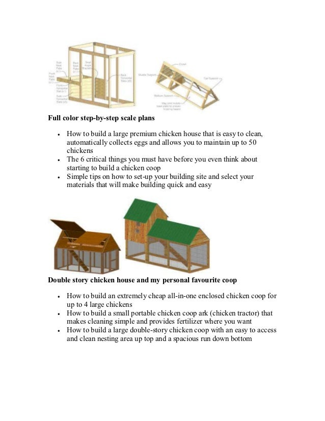 Build your own chicken tractor step by step for Steps to building your own home