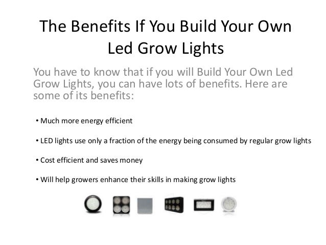 ... BuildYour Own Led Grow Lights. 2.