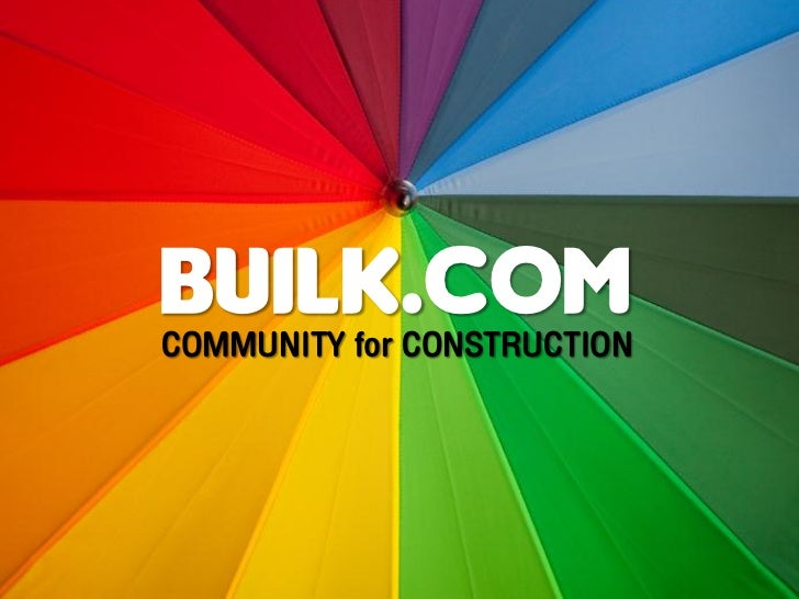 Builk.comCOMMUNITY for CONSTRUCTION