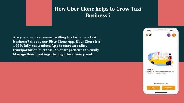 Business Like Uber Slide 2