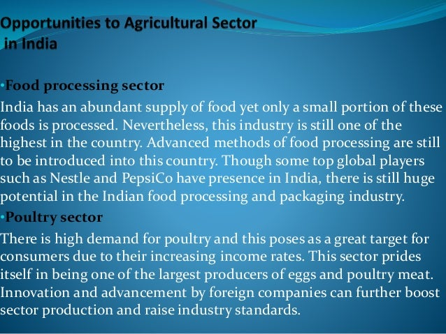 Indian Agriculture - 2016