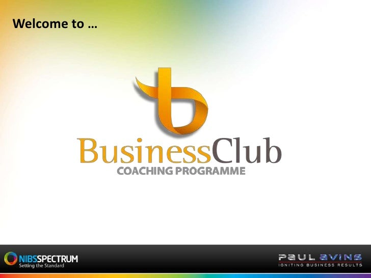 Welcome to …<br />