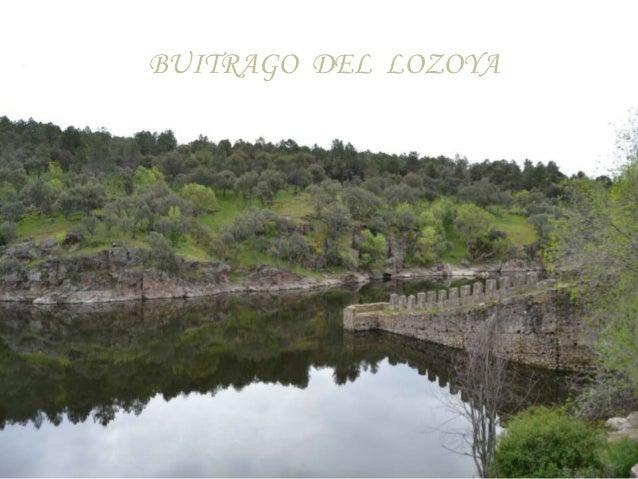 BUITRAGO DEL LOZOYA