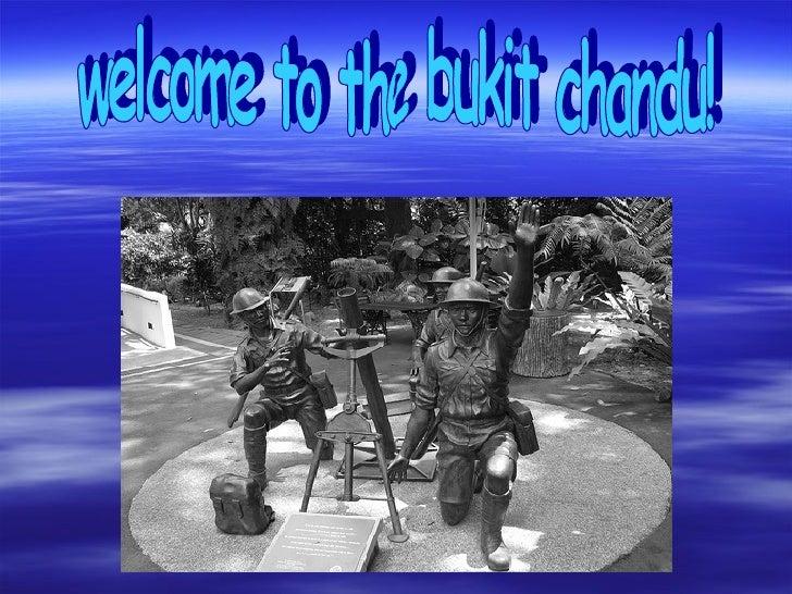 welcome to the bukit chandu!