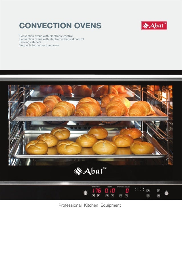 ABAT Convection Ovens - ENGLISH