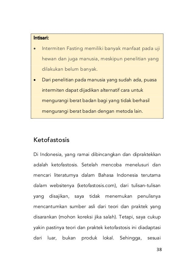 20 Cara Diet Ketofastosis Untuk Pemula yang Paling Ampuh (#Teruji)