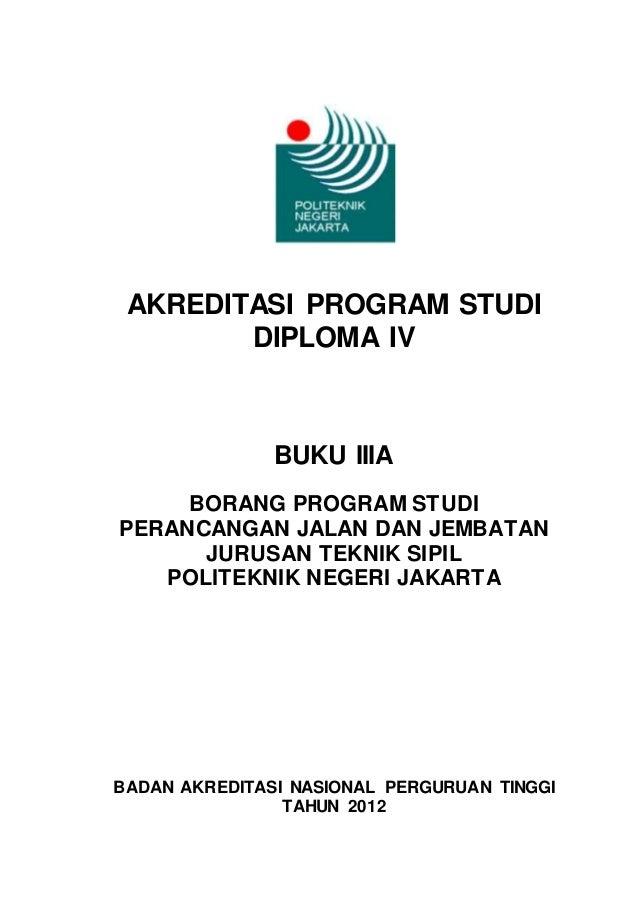 Buku Iiia Borang Akreditasi D4 Pjj 2012 Rev Copy2