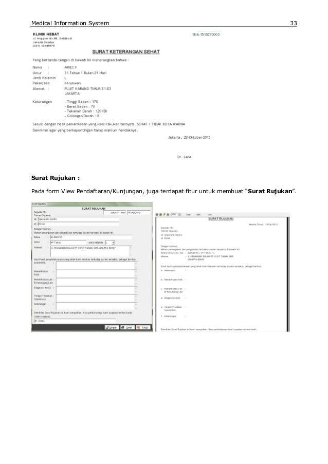 Manual Book Software Klinik Apotek Medical Information System Mis