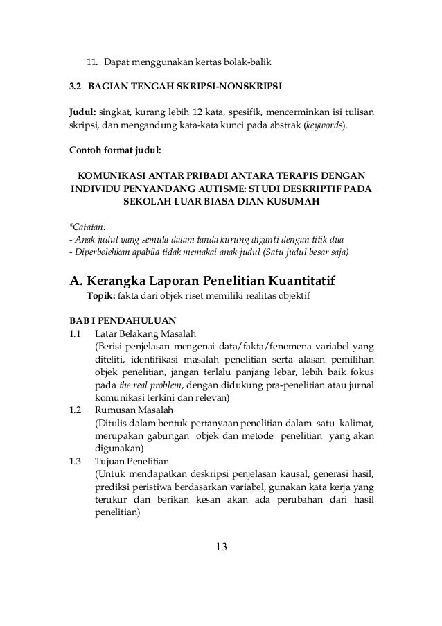 Contoh Judul Penelitian Kuantitatif Komunikasi - Mathieu ...