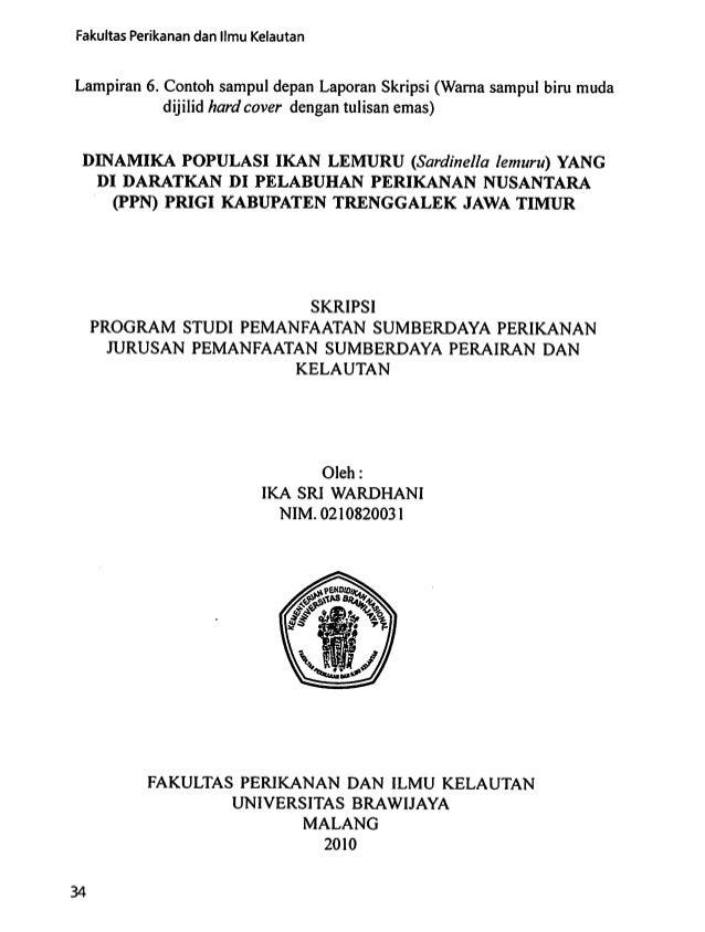 Buku Pedoman Penulisan Buku Skripsi 1