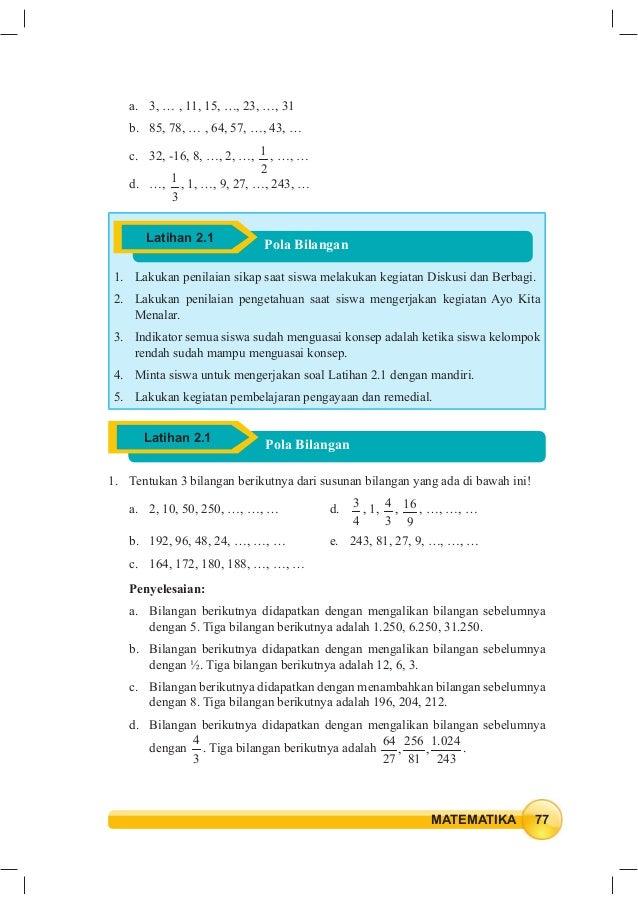 Kunci Jawaban Buku Matematika Kelas 9 Kurikulum 2013 ...