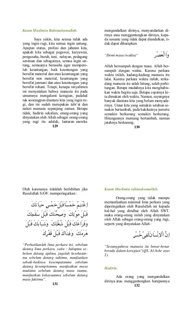 Buku Saku Khutbah Jumat Pilihan2