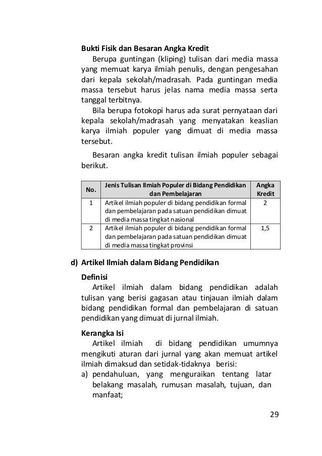 Best Contoh Karya Ilmiah Pendidikan Sekolah Dasar Image Collection