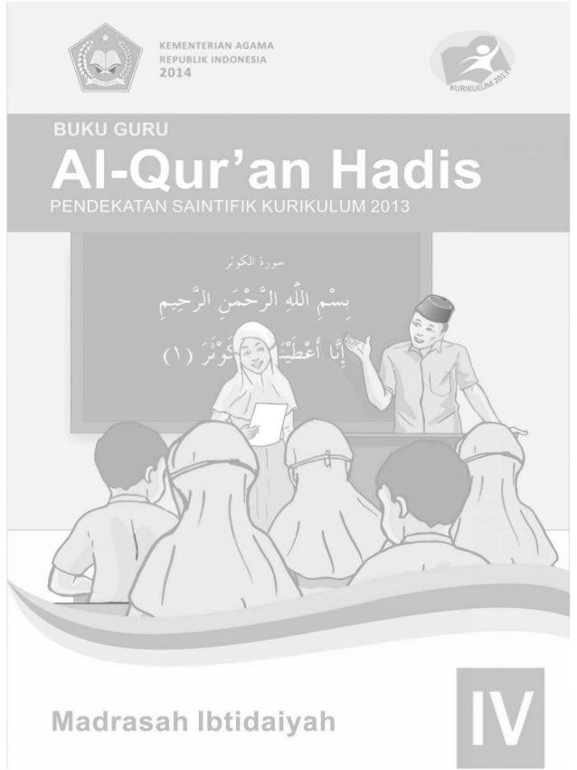 ii Buku Guru Kelas 4 MI Hak Cipta © 2014 pada Kementerian Agama Republik Indonesia Dilindungi Undang-Undang MILIK NEGARA T...