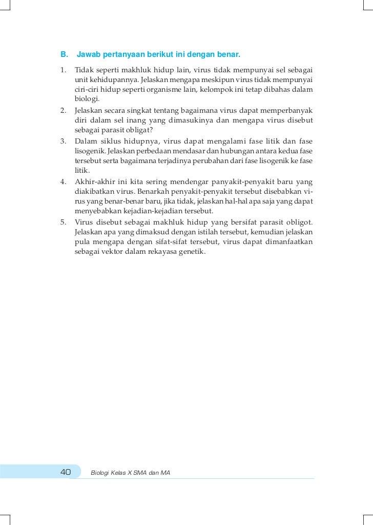 Buku Biologi SMA Kelas X BSE 2009 - Riana Yani
