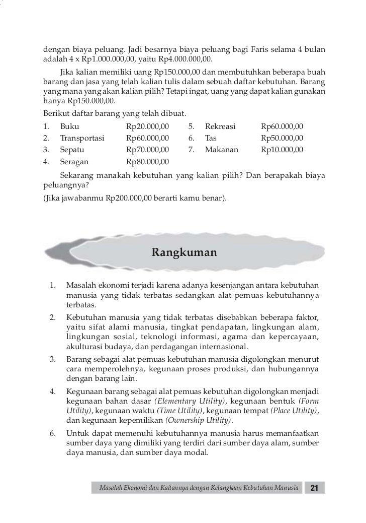Buku Ekonomi Sma Kelas X Sri Nur Mulyani