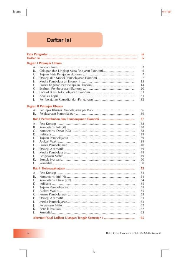Mata Pelajaran Ekonomi Kelas 10