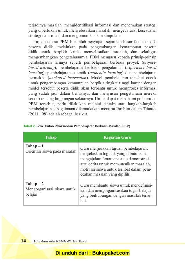 Buku Guru Ips Kelas 9 K13 Revisi 2018