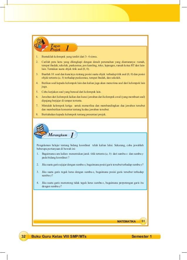 Jawaban Tugas Proyek 5 Matematika Kelas 9 Kurikulum 2013 ...