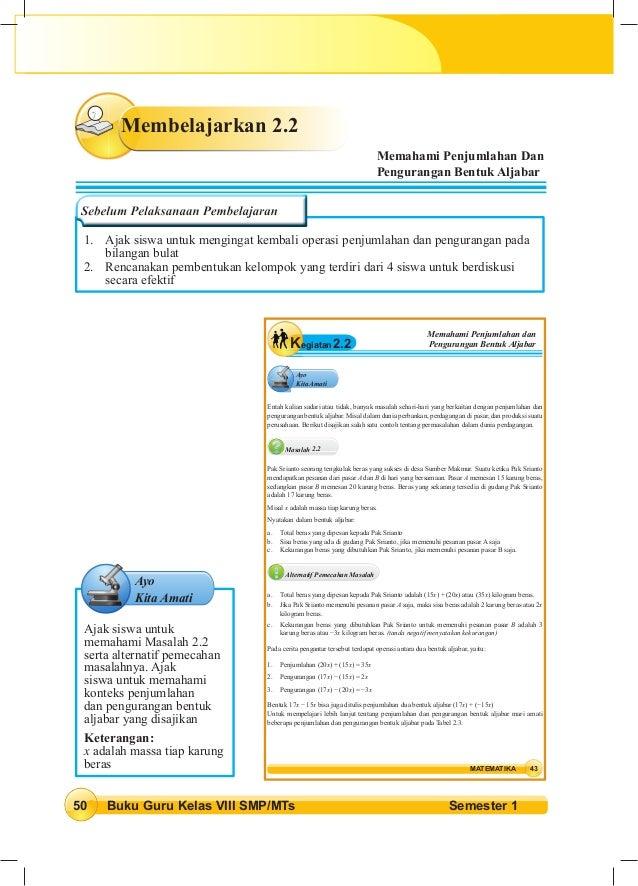 Soal Aljabar Kelas 8 Dan Jawabannya Soal Latihan Bentuk Aljabar Soal Dan Pembahasan Pemfaktoran