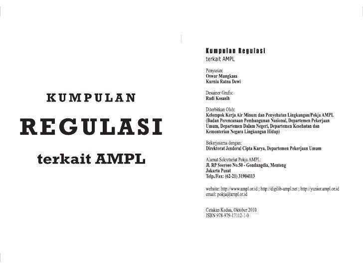 Undang-Undang Republik Indonesia Nomor 33 Tahun 2004                            Peraturan Pemerintah Republik Indonesia No...