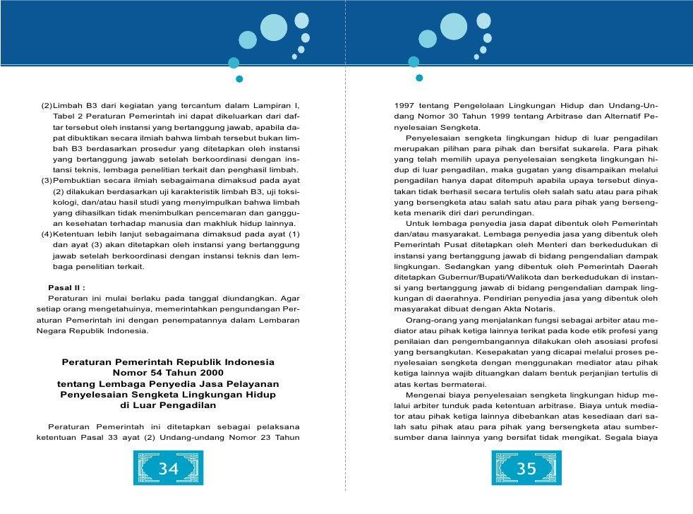 Peraturan Pemerintah Republik Indonesia                            Menteri yang bertanggung jawab di bidang kehutanan meng...