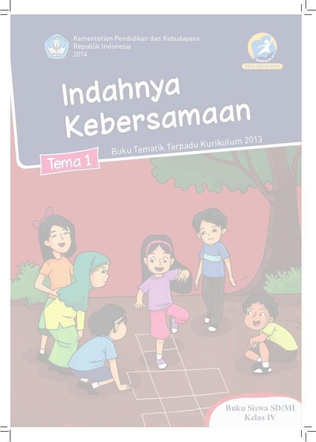 Buku Kurikulum 2013 Sd Kelas 4 Tema 1 Buku Siswa Revisi 2014