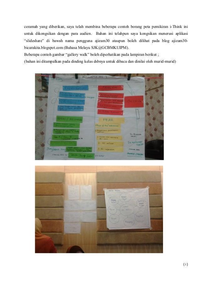 ceramah yang diberikan, saya telah membina beberapa contoh borang peta pemikiran i-Think ini untuk dikongsikan dengan para...