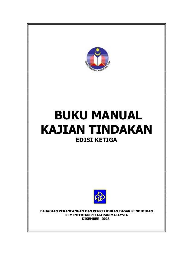 Buku manual kajian tindakan edisi ketiga