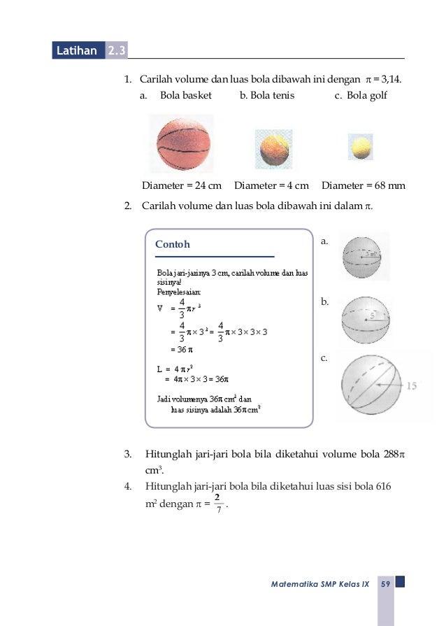 E-book matematika kls IX